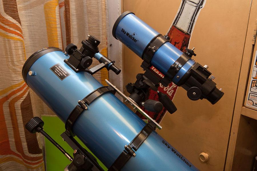 My first telescope(s)