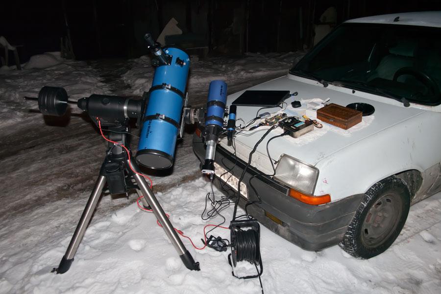 My astrophotography setup
