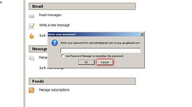 Skip Enter your password