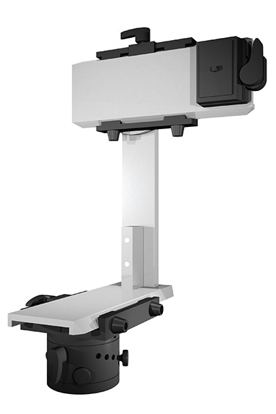 Assembled panoramic head (front)